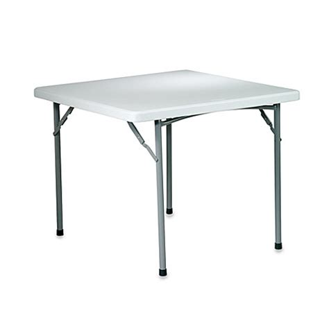 Buy Resin Folding 36 Inch Square Table from Bed Bath Beyond