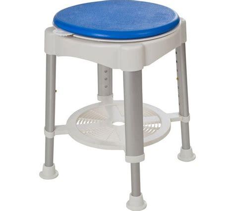 Buy Round Shower Stool Rotating Seat at Argos