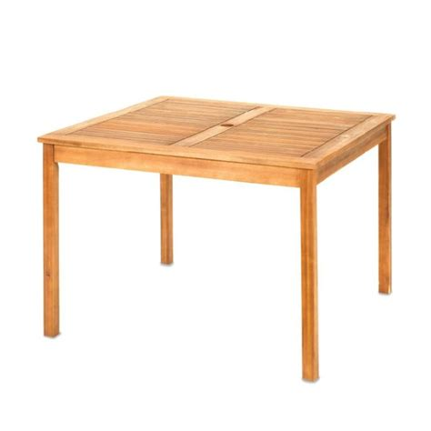 Buy Westerly Acacia Wood 4 Person Outdoor Dining Table