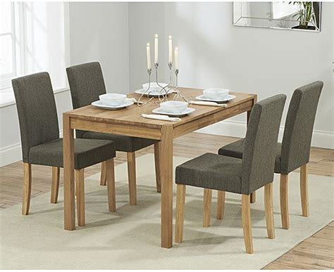 Buy the Oxford 120cm Solid Oak Dining Table with Mia