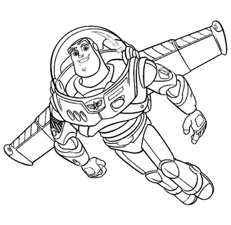 Buzz Lightyear Coloring pages Drawing for Kids Videos