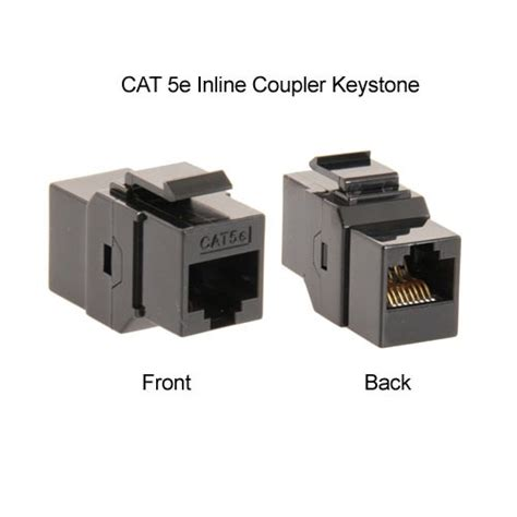 CAT5E Jacks and RJ45 coupler CableOrganizer