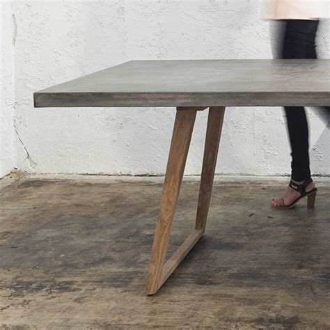 CONCRETE DINING TABLE 2200 x 900 Living By Design