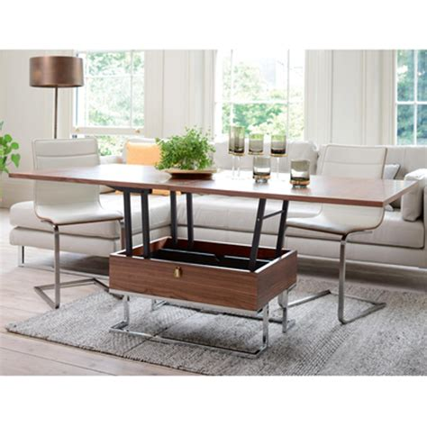 CONVERTABLE coffee table to six seater dining table