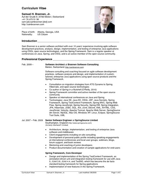 CV tips templates and examples for effective curriculum