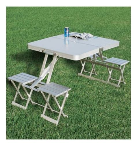 Cabela s Folding Aluminum Picnic Table Cabela s