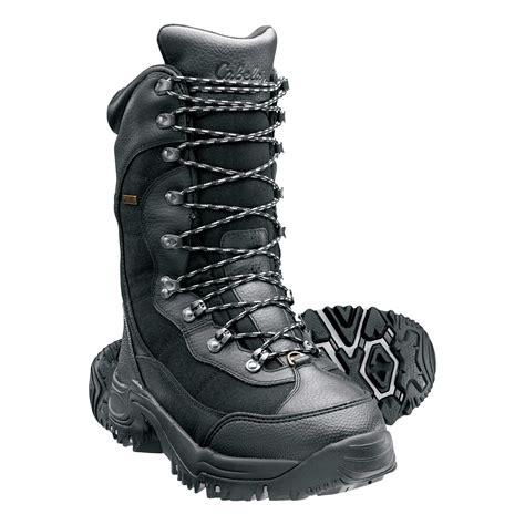 Cabela s Inferno 2000 Pac Boots Black Cabela s
