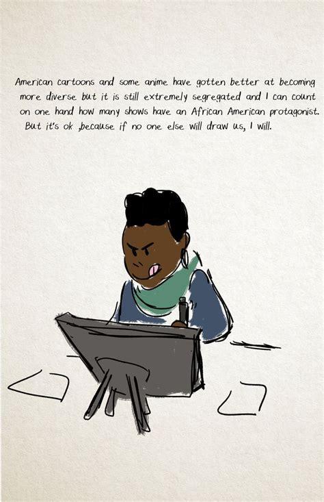 CalArts Animation Student If I Don t Draw Black