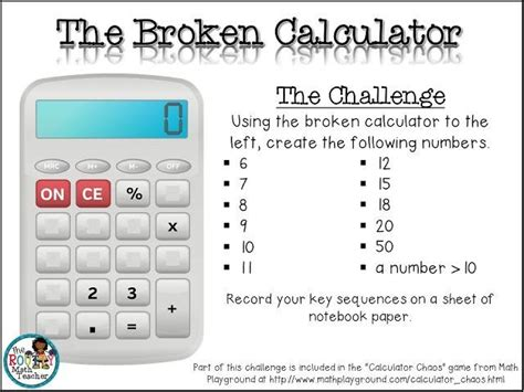 Calculator Chaos MathPlayground Math Games