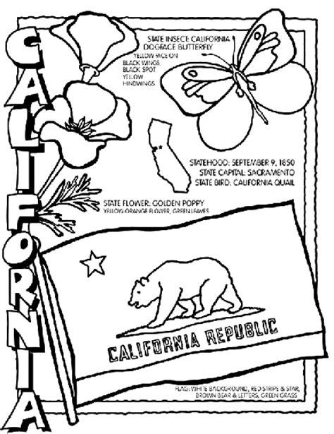 California Coloring Page crayola