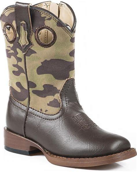 Camo Cowboy Boots Sheplers