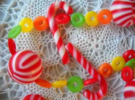 Candy Garland For Christmas Tree