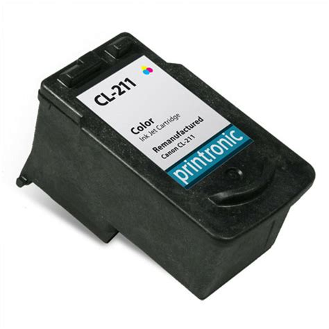 Canon CL 211 XL Ink Cartridge Color Target