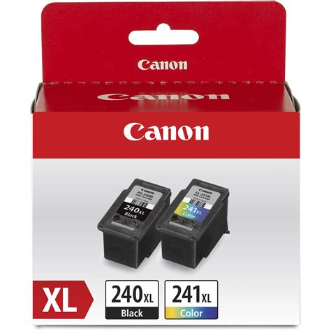 Canon PG 240 CL 241 XL Combo Ink Pack with Photo Paper