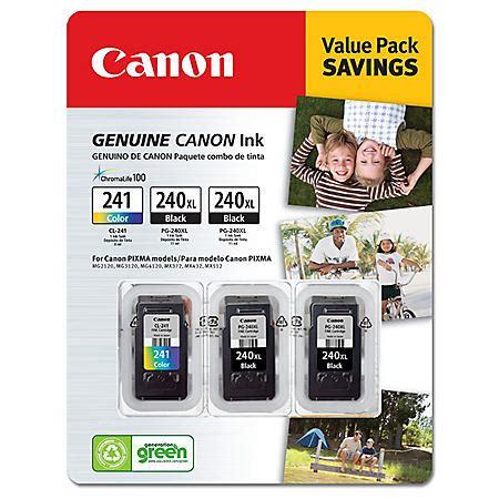 Canon PG 240XL CL 241 Ink Tank Cartridge Black Tri Color