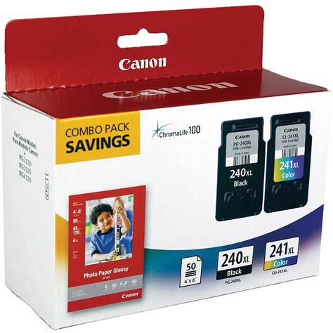 Canon PG 240XL CL 241XL Ink Cartridge Combo Pack