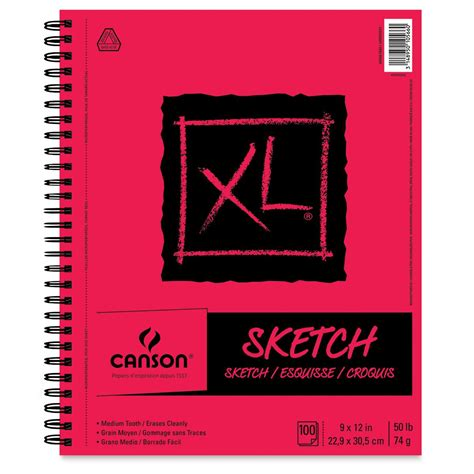 Canson Pure White Drawing Pad BLICK art materials
