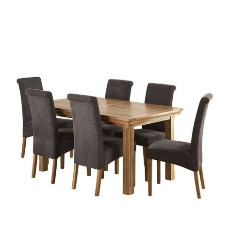 Canterbury Natural Solid Oak 5ft Extending Dining Table