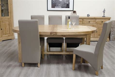 Canterbury Oak Oval Extending Dining Table Free Delivery