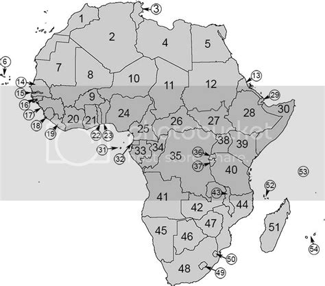 Capitals of Africa Map Quiz Sporcle