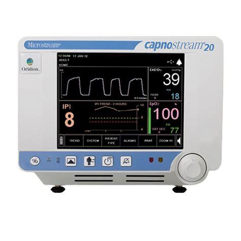 Capnostream 20p Bedside Monitor with Apnea Sat Alert