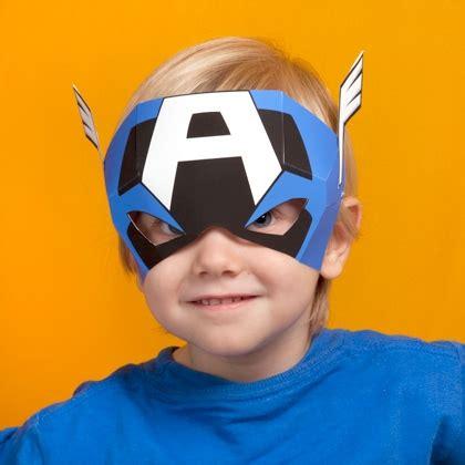 Captain America Mask Disney Family
