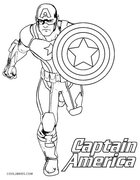 Captain America coloring pages Free Coloring Pages