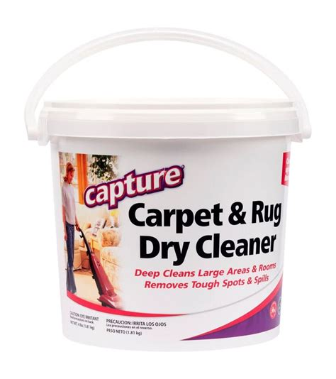 Capture Carpet Dry Cleaning Powder Usage Instructions