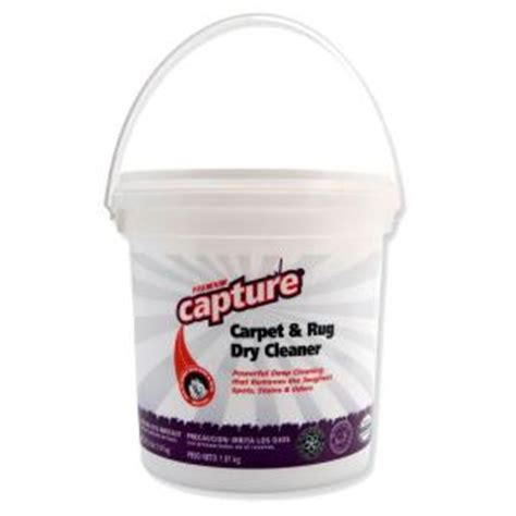Capture Dry Carpet and Rug Dry Cleaner