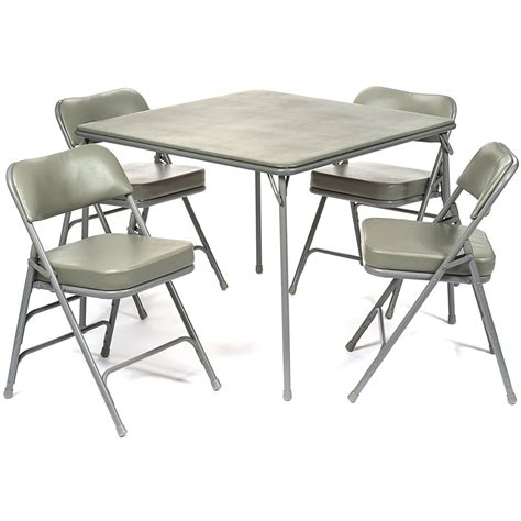 Card Tables Folding Chairs Sears