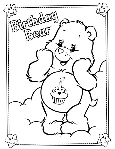 Care Bears Coloring Pages Free and Printable
