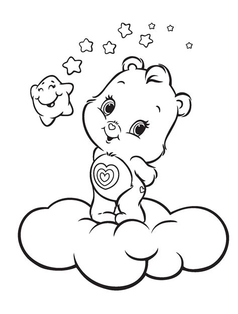 Care Bears free coloring pages Coloring pages for kids
