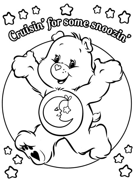 Care Bears online coloring page Coloring4all