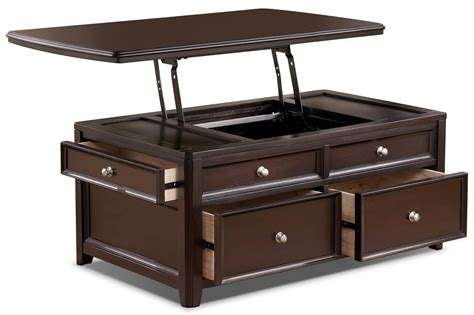 Carlyle Coffee Table with Lift Top The Brick