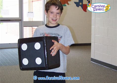 Carnival Game and Booth Idea Dice Roll Carninval Game