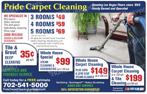 Carpet Cleaning Las Vegas Quality Service And Great Deals