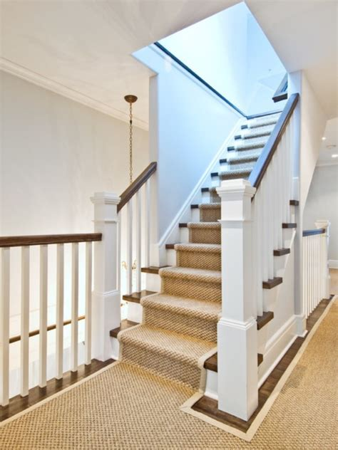 Carpet or Hardwood on stairs houzz