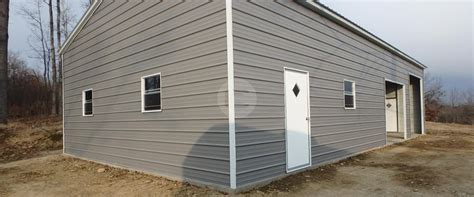 Carport Installation Information Metal Barns Enclosed
