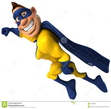 Cartoon Superhero Images Stock Pictures Royalty Free