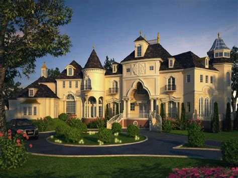 Castles and Mansions Beautiful Luxury Home Plans