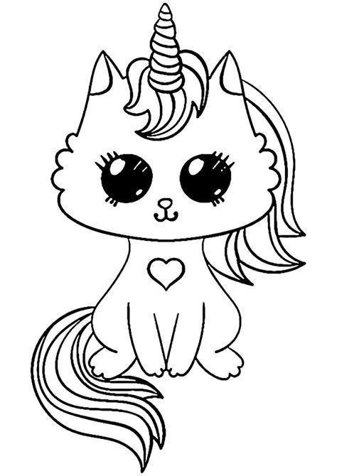 Cat Coloring Pages Online Coloring Books
