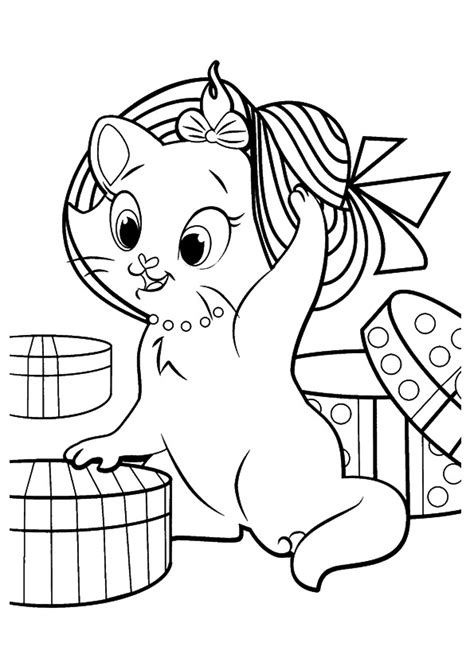 Cats Coloring Pages Free Coloring Pages for Kids