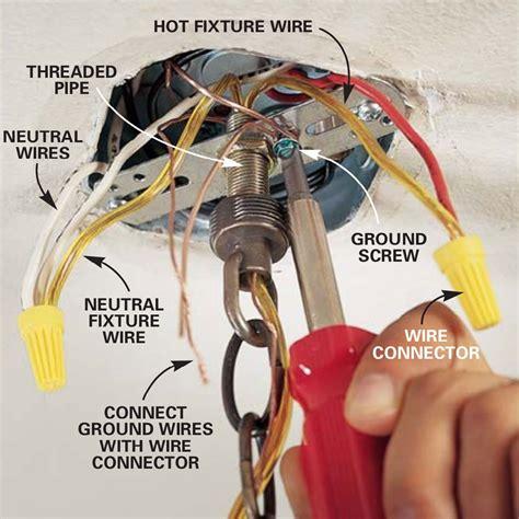 Ceiling Fixture Wiring Diagram