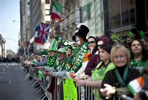 Celebration of St Patrick s Day in Ireland and Rest of