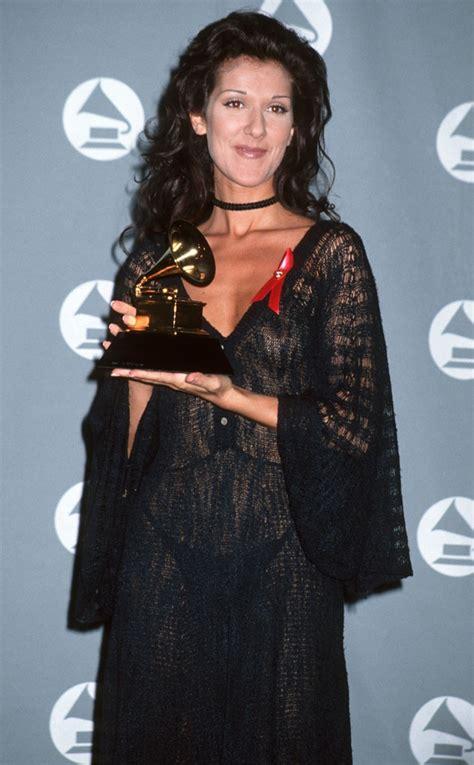 Celine Dion 1993 Grammys Red Carpet Most Revealing