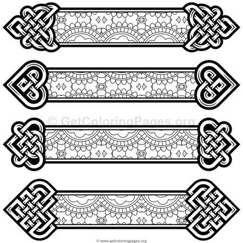 Celtic Knot Coloring Pages GetColoringPages