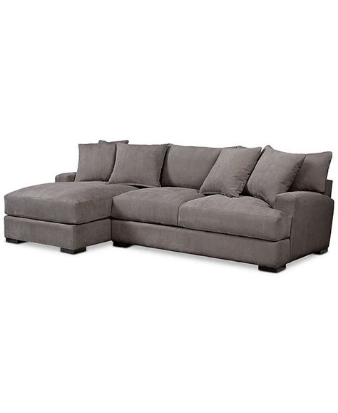 Chaise Sofa Shop Couches Online Macy s