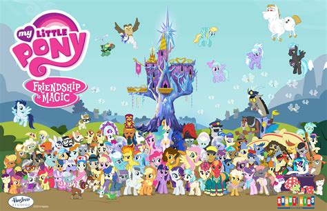 Characters My Little Pony Friendship is Magic Wiki