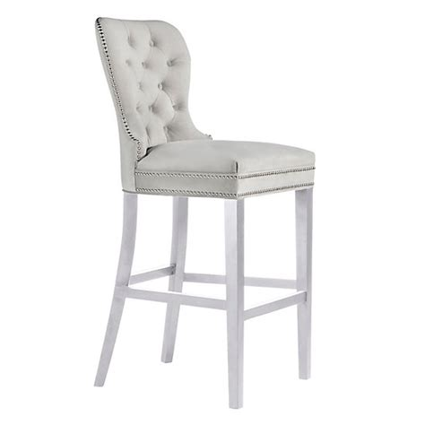 Charlotte Stool High Gloss White Dining Room Chairs