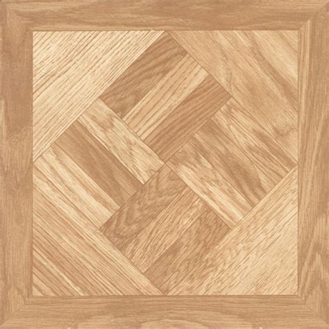 Chaucer 12 in x 12 in Resilient Vinyl Tile Flooring 45